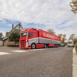 Koeltransport gekoeld geleverd - ZUIDWEST Logistiek