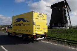 Sneltransport Kinderdijk - ZUIDWEST Logistiek