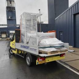 Sneltransport Open bakwagen - ZUIDWEST Logistiek