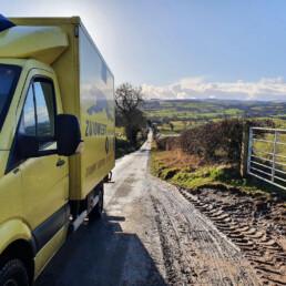 Sneltransport in Schotland - ZUIDWEST Logistiek